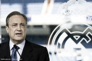 """Florentino Pérez: """"Es una posibilidad que Ancelotti se presente este miércoles"""""""