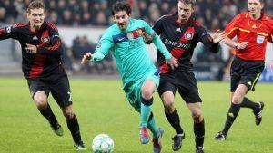 Antecedentes entre FC Barcelona y Bayer Leverkusen