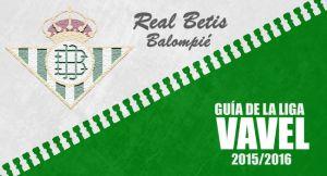 Real Betis 2015/2016: de vuelta al rincón de los ases con la exigencia por bandera