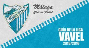 Málaga CF 2015/2016: despacio en busca de Europa