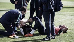 Xavi, con una sobrecarga, y Tello, con un esguince en el tobillo, dudas para el sábado