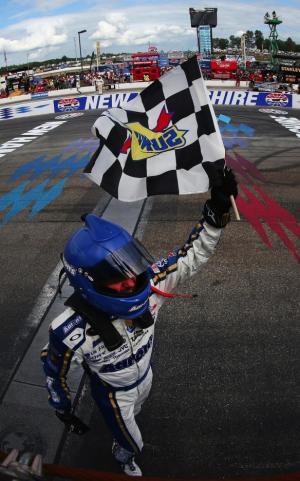 NASCAR - Loudon : Vickers sort de sa boîte