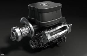 Ecoutez le son du V6 Turbo Mercedes !