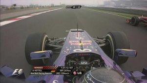 Inde : Vettel puissance 4 !
