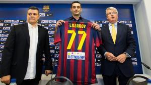 """Kiril Lazarov: """"Mi sueño es ganar la Liga de Campeones"""""""