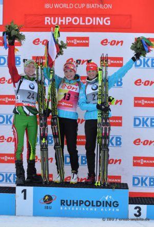 Ruhpolding: Soukalova remporte l'individuel