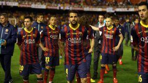 El Barcelona se quedó con la miel en los labios