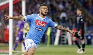 Insigne e Mertens stendono la Fiorentina, Coppa Italia al Napoli