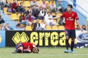 Alcorcón - Osasuna: puntuaciones de Osasuna, jornada 8