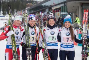 Biathlon, staffetta donne Holmenkollen: un'Italia perfetta conquista un secondo posto che sa di storia!