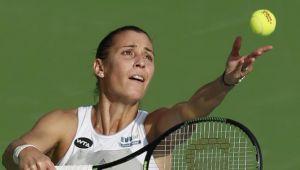 WTA Dubai: fuori Giorgi, bene Pennetta
