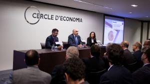 Bartomeu saca pecho en el Círculo de Economía