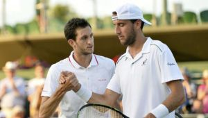 Wimbledon: Britain's James Ward Defeats Lucky Loser Vanni