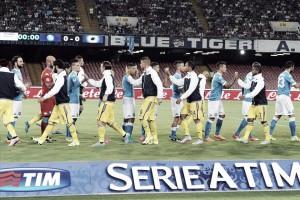 Sampdoria vs Nápoles Serie A (2-4): líderes una jornada más