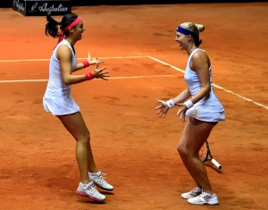 Kristina Mladenovic And Caroline Garcia Announce 2016 Doubles Partnership