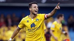 Óscar Plano, elegido por la afición el mejor jugador del Alcorcón frente al Osasuna