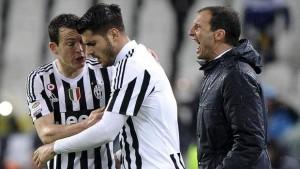 """Allegri: """"Gran victoria, el partido de la primera vuelta ya significó un cambio de rumbo para nosotros"""""""
