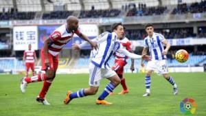 Gratos recuerdos para el Granada CF en Anoeta