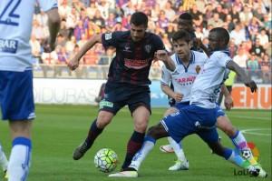 El Huesca consigue un punto para la salvación