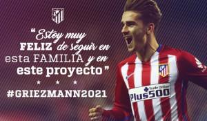 Griezmann renueva hasta 2021
