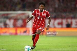 Bayern Munich's David Alaba set for injury lay-off