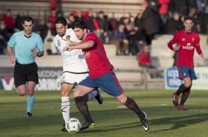 Santafé encumbra al Osasuna B ante el CD Boiro