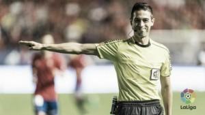 Vicandi Garrido, colegiado de esta jornada 33