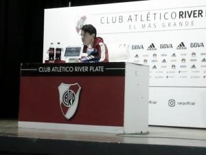 """Gallardo: """"Nos faltó eficacia para definir el partido"""""""