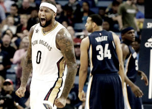 NBA - Cousins è stellare e i Pelicans battono i Grizzlies; vita facile per Golden State contro i Dallas Mavericks