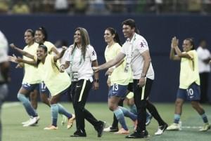 Jogadoras brasileiras comemoram vitória sobre Espanha e valorizam qualidade da equipe