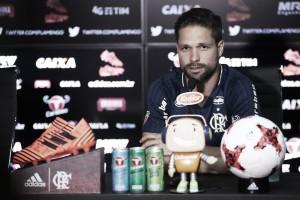 """Diego agradece apoio da família e comemora gol contra a Chape: """"Estou mais fortalecido"""""""