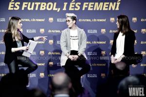"""""""És futbol i és femení"""", la iniciativa del Barça para el 8M"""