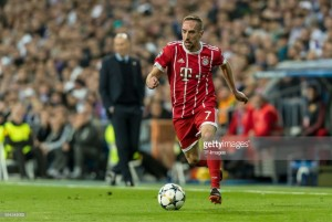 Franck Ribéry to remain with Bayern Munich for another year