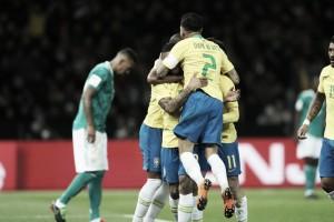 Brasil afasta terror e vence amistoso contra Alemanha