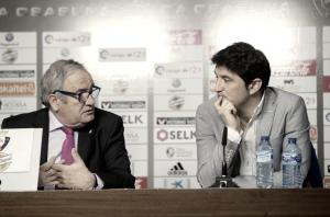 """Luis Sabalza: """"Tengo que dar las gracias a Diego Martínez por su trabajo"""""""