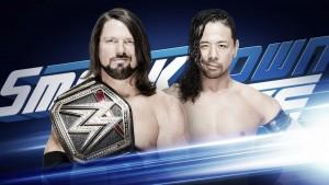 Previa SmackDown Live 10/07/18: Styles y Nakamura se vuelven a enfrentar