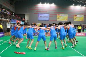Pemain Muda China Pamer Kekuatan