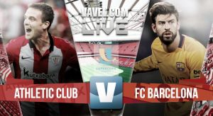 Resultado Athletic de Bilbao vs FC Barcelona en la Supercopa de España 2015 (4-0)