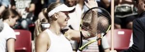 WTA de Bastad: Wozniacki bate Mertens e encara Siniakova em sua quinta final no ano