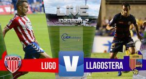 CD Lugo - UE Llagosteraen directo online en Segunda División 2015 (0-0)