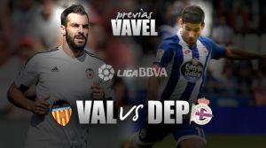 Valencia-Deportivo de La Coruña: cuestión de rachas
