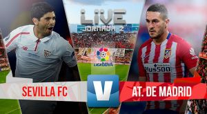 Resultado Sevilla vs Atlético de Madrid en Liga BBVA 2015 (0-3)