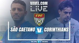 Jogo São Caetano x Corinthians AO VIVO hoje no Campeonato Paulista 2018 (0-1)