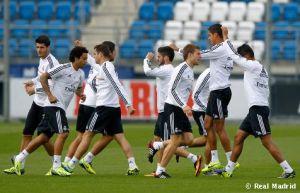 Primer entrenamiento pensando en la Juventus