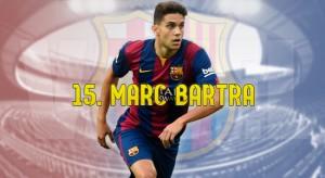 Resúmenes FC Barcelona 2015/16: Marc Bartra, un déjà vu confinal diferente