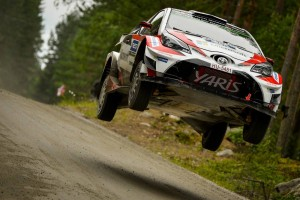 WRC Rally Finlandia 2017 - Mattina Day 1, i finlandesi volano... disastro Ogier