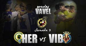 Hércules -Villarreal 'B': alto nivel en el derbi valenciano