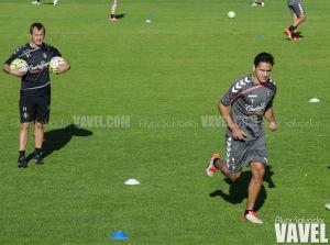 Marcelo Silva y Erick Moreno se entrenan con el grupo
