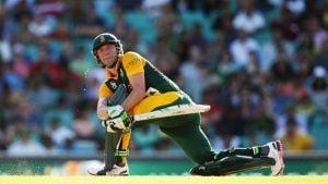 A.B. de Villiers 162 - West Indies 151