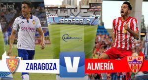 Resultado Real Zaragoza vs UD Almería (3-2)